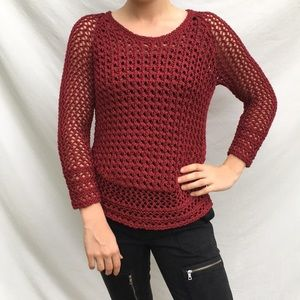Lucky brand extra small red sweater.